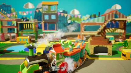 Игра для Nintendo Switch Yoshi's Crafted World