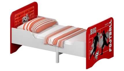 Кровать детская раздвижная Polini kids Fun 3200 Футбол, красный