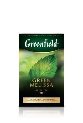 Чай зеленый Greenfield листовой green melissa 85 г