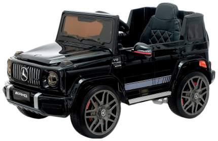 Электромобиль Sima-Land MERCEDES-BENZ G63 AMG черный глянец, EVA колеса, кожаное сидение