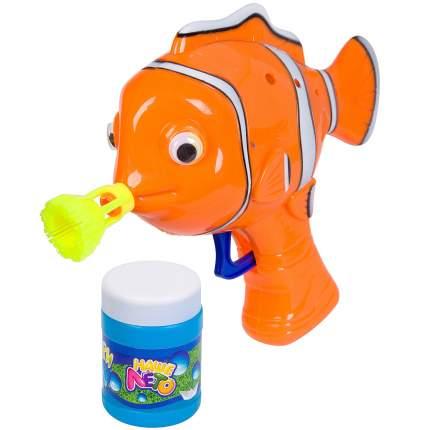 """Пистолет с мыльными пузырями """"Наше Лето. Рыбка"""", 50 мл, арт. 901"""