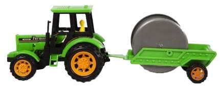 Фрикционная игрушка Handers Трактор с прицепом. Укладка кабеля