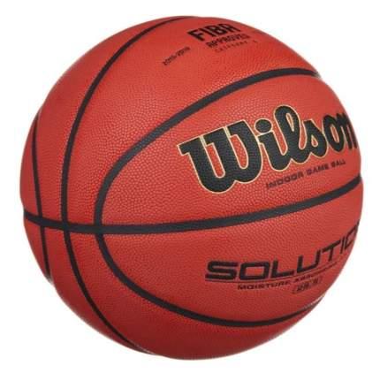 Баскетбольный мяч Wilson Solution №6 brown