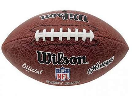 Мяч для американского футбола Wilson NFL Extreme, 7, коричневый