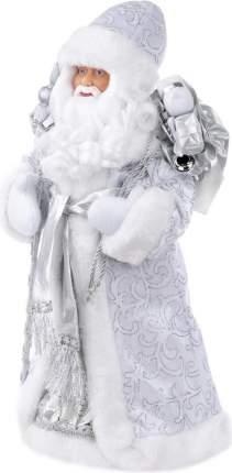 """Фигурка новогодняя """"Дед Мороз в серебряном костюме"""", 20,5x12,5x41 см"""