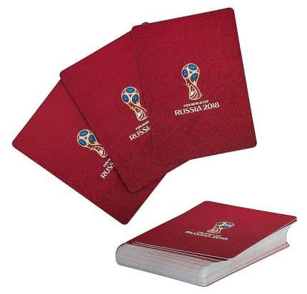 Карты игральные Миленд FIFA 2018 красные