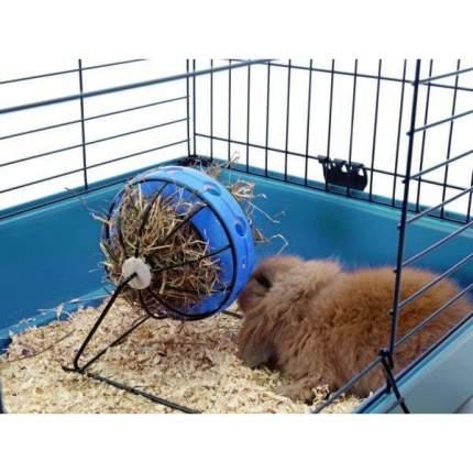 Кормушка-игрушка Savic Bunny Toy для кроликов и морских свинок (19,5 х 18 х 12 см, Синий)