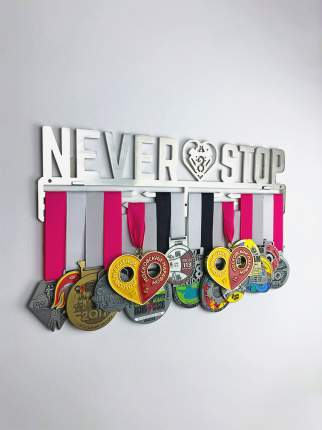 Медаллер Never Stop Heart