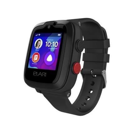 Детские смарт-часы ELARI Kidphone 4G Black/Black