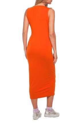 Платье женское Gloss 15321(17) оранжевое 38 RU