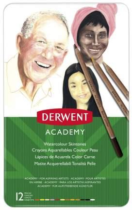Карандаши цветные Derwent Academy 2300386 12 шт
