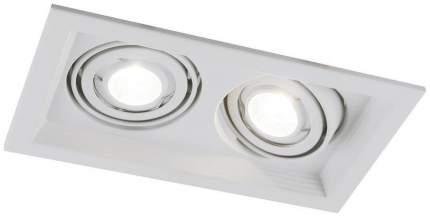 Встраиваемый точечный светильник Arte Lamp Canis A6661PL-2WH