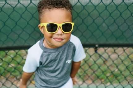 Детские солнцезащитные очки Babiators Original Navigator Желтый мак Poppy Yellow 0-2 года