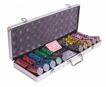 Набор для покера Partida Lux на 500 фишек