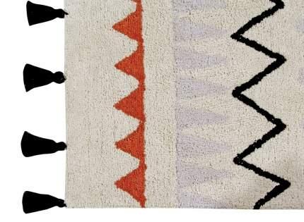 Lorena canals ковер ацтекский azteca natura (терракотовый) 120*160