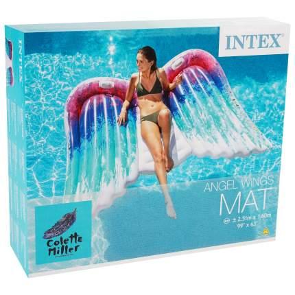 Надувной матрас INTEX крылья ангела, 251х160 см