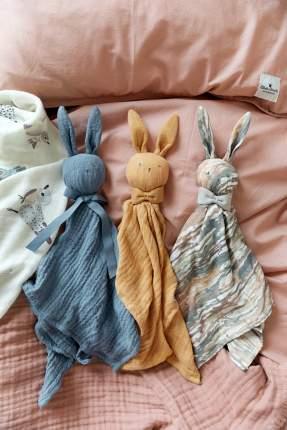 Elodie details игрушка -обнимашка зайчик blinkie - blue