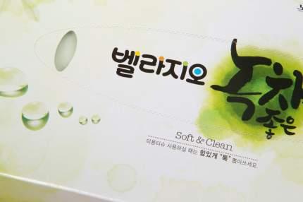 Салфетки для лица с экстрактом зелёного чая Hoff Bellagio Green tea