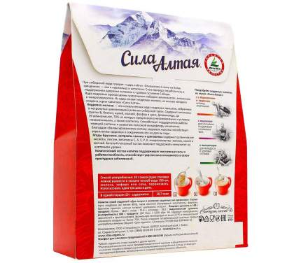 Напиток сухой кедровый для тонуса и усиления защитных сил организма 150 г