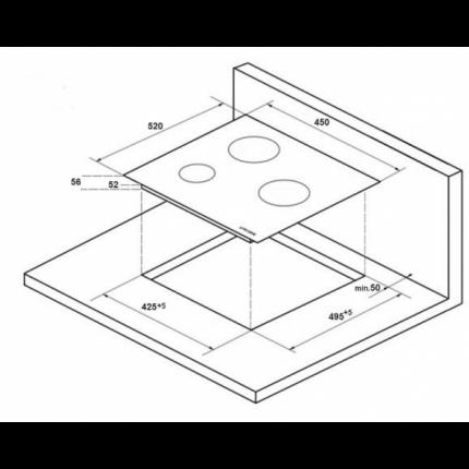 Встраиваемая индукционная панель Kuppersberg ICO 402