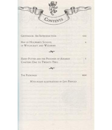 Harry Potter And The Prisoner Of Azkaban, Gryffindor Edition