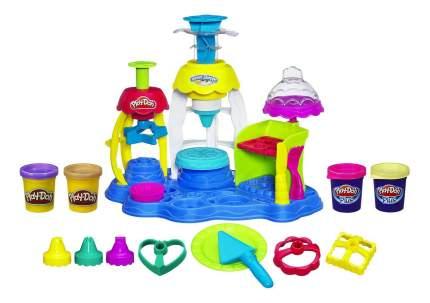 Набор для лепки из пластилина play-doh фабрика пирожных a0318