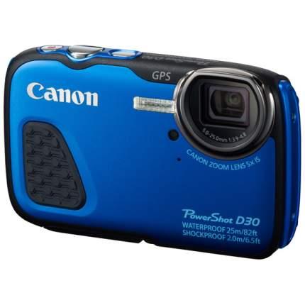 Фотоаппарат цифровой компактный Canon PowerShot D30 Blue