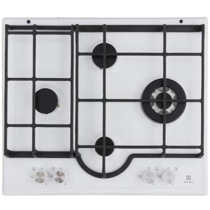 Встраиваемая варочная панель газовая Electrolux GME363XW White