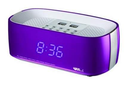 Радио-часы BVItech UTR-231BPU Фиолетовый Розовый