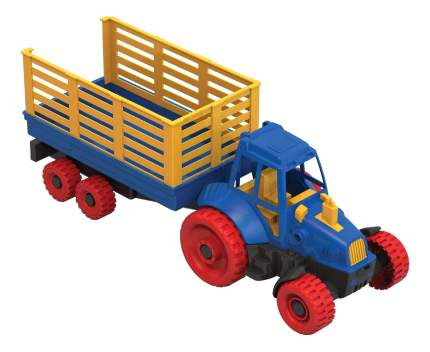 Трактор с прицепом Нордпласт