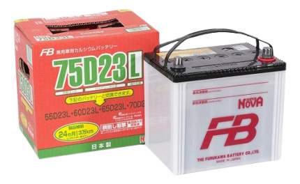 Аккумулятор автомобильный  Furukawa Battery SUPER NOVA 75D23L 65 Ач