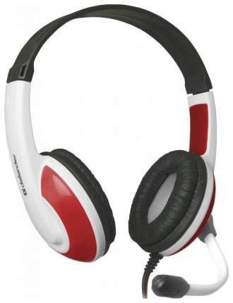 Игровые наушники Defender Warhead G-120 White/Red