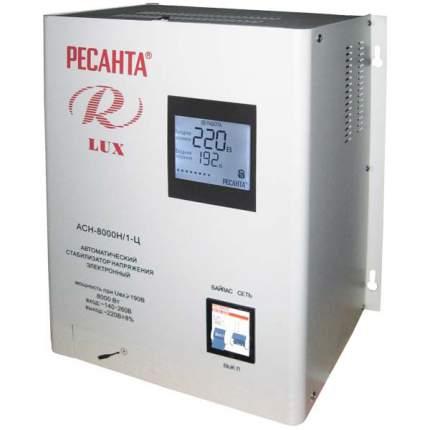 Однофазный стабилизатор Ресанта АСН-8000 Н/1-Ц