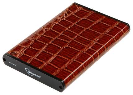 Внешний карман (контейнер) для HDD Gembird EE2-U3S-70L-BR Brown