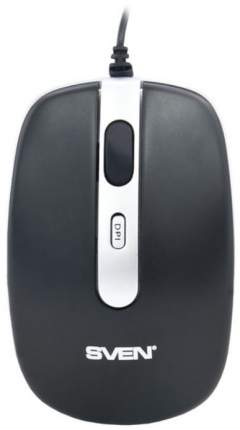 Проводная мышка Sven RX-500 Silent Black
