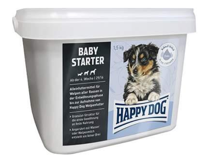 Сухой корм для щенков Happy Dog Baby Starter, птица, 1,5кг