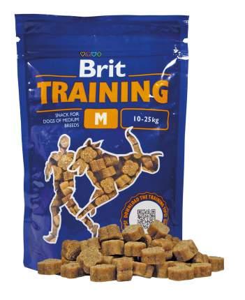 Лакомство для собак Brit Training Snacks M, гранулы, курица, 200г
