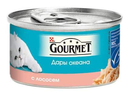 Консервы для кошек Gourmet Дары океана, лосось, 85г