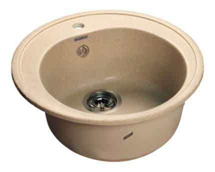 Мойка для кухни мраморная GranFest Rondo GF-R510 песочный