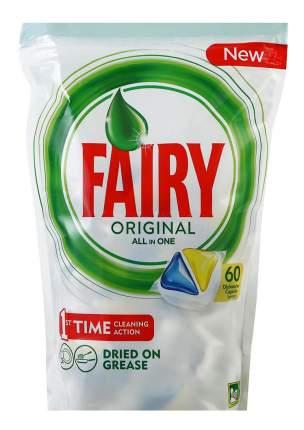 Таблетки для посудомоечной машины Fairy all in one лимон 60 штук