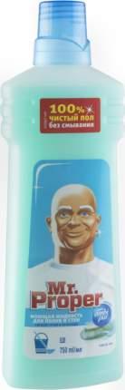 Универсальное чистящее средство для мытья полов Mr. Proper горный ручей и прохлада 750 мл