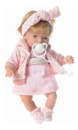 Кукла Arias Elegance блондинка в розовой одежке, 26 см