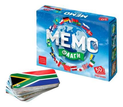 Семейная настольная игра Бэмби Мемо Флаги