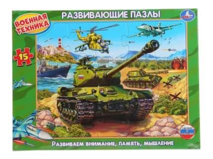 Пазл Умка Военная техника
