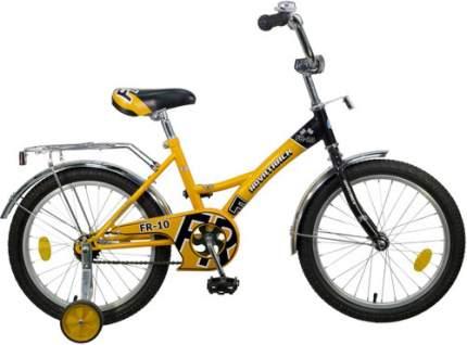 Велосипед Novatrack FR-10 18 (2016), желтый (183FR10.YL5)