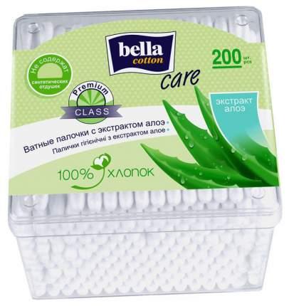 Ватные палочки Bella Cotton Care с экстрактом алоэ 200 шт