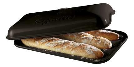 Форма для выпечки багетов 39 х24 см,цвет: базальт (2) (600) 795506