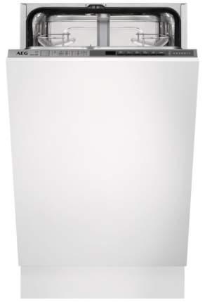 Встраиваемая посудомоечная машина 45 см AEG FSR83400P