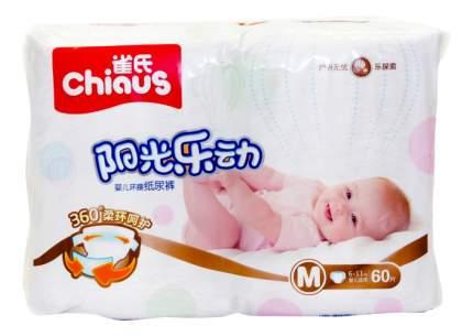 Подгузники Chiaus Premium M (6-11 кг), 60 шт.