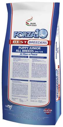 Сухой корм для щенков Forza10 Best Breeders Puppy Junior, рыба, рис, 20кг